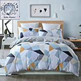 BuLuTu Bedding Geometric Kids Duvet Cove...