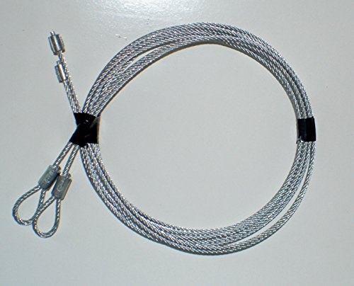 Building & Hardware Garage Door Cables for Torsion Spring Doors 7' Clopay, Wayne Dalton, CHI