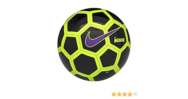 Nike Menor Balón, Unisex Adulto, Blanco (Black/Volt/Hyper Grape ...