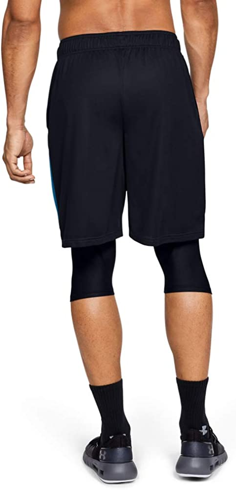 Negro MD Hombre Under Armour Baseline 10in Short Corto