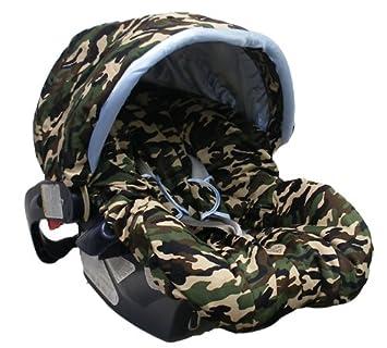 Amazon.com: Daddy camuflaje/azul con ribete toldo cubierta ...