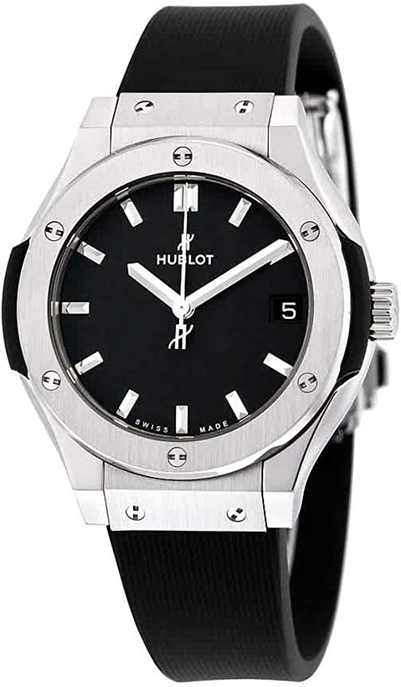 Hublot Classic Fusion 581NX1171RX - Reloj de pulsera para hombre (esfera negra), color negro