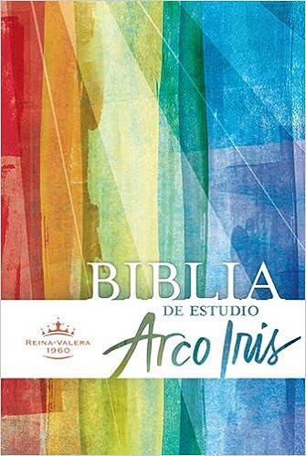 Amazon.com: RVR 1960 Biblia de Estudio Arco Iris, tapa dura ...