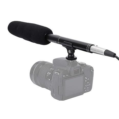 Vbestlife Micrófono de grabación estéreo, Micrófono de grabación ...