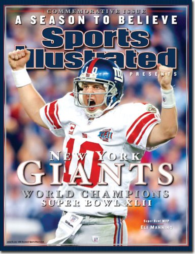 Sports Illustrated  Ny Giants Superbowl Commemorative  2008 Issue