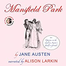 Mansfield Park Audiobook by Jane Austen Narrated by Alison Larkin