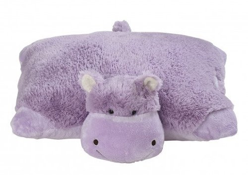 My Pillow Pets Hungry Hippo - Large (Lavender)