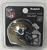 Jacksonville Jaguars Riddell Speed Pocket Pro Football Helmet - New in package