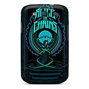Samsung Galaxy S3 SFr28073bsHX Support Personal Customs High-definition Alice In Chains Series Shock Absorbent Hard Phone Case -LeoSwiech
