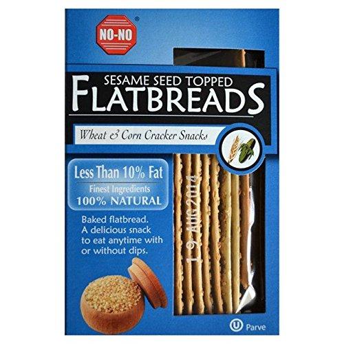 Sesame Flat Bread - 8