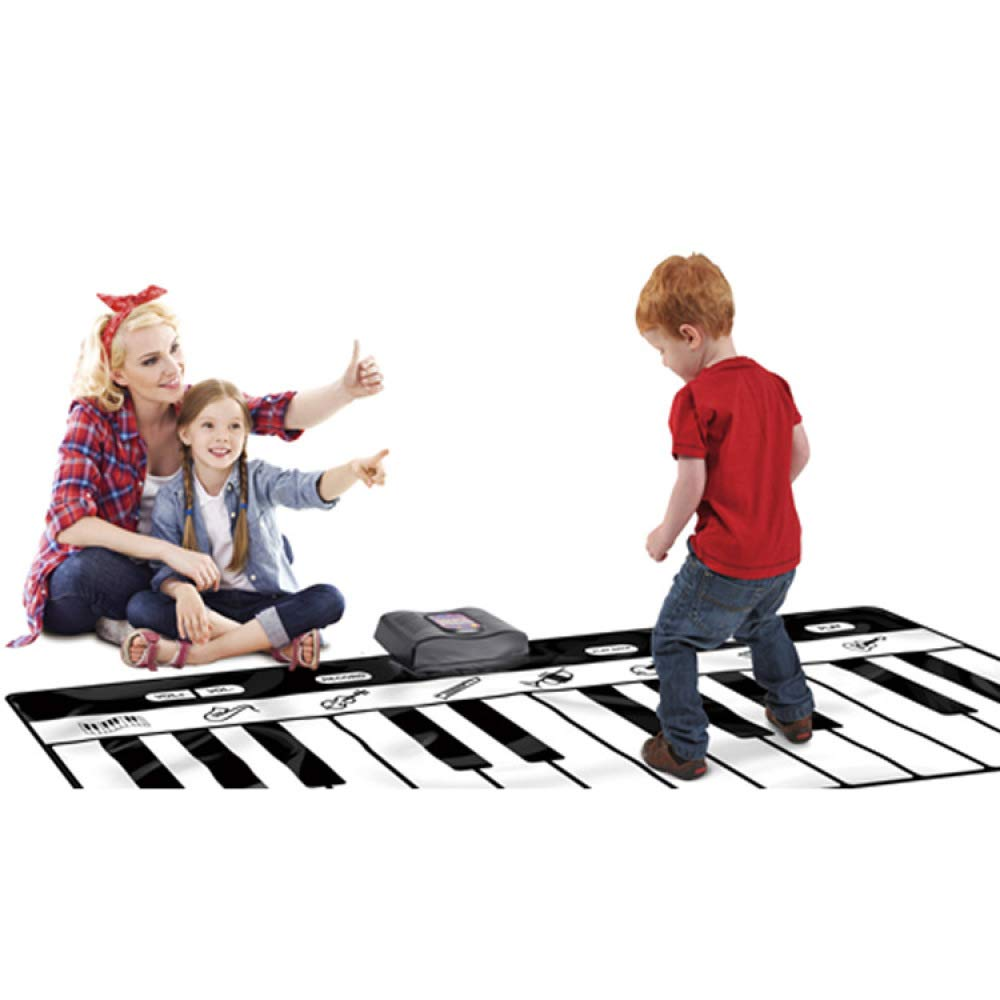 QXMEI Children's Piano Blanket Toddler Blanket Dance Mat Crawling Mat Gift Toy 18069 cm by QXMEI (Image #1)