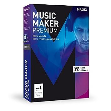amazon magix music maker 2017 premium edition music program