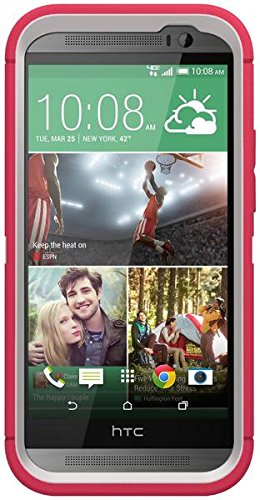 OtterBox Defender Case for HTC One M8 Neon Rose - Bulk Packaging (Case Only)