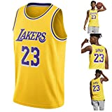 N&G SPORTS Lebron James,basketball Player Jersey,LA Lakers, Fiber Embroidery Jsersey,fans Jsersey,breathable Quick Drying Vest,children Men,competition Equipment