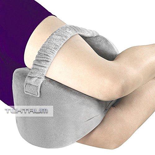 Tektrum Orthopedic Knee Pillow for Sciatica Relief, Back ...