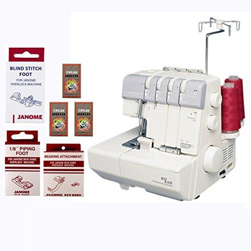 Janome MyLock 634D Mechanical Sewing Machine w/4 Piece Customer Appreciation Bonus