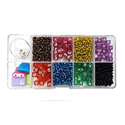 Linpeng Bead Box with FREE spacers and charms