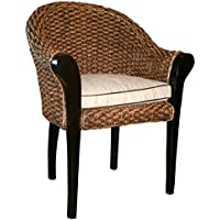 Water Hyacinth Handwoven Paris chair Made By Chic Teak