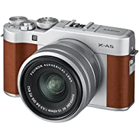 Fujifilm X-A5 Mirrorless Digital Camera w/XC15-45mmF3.5-5.6 OIS PZ Lens - Brown