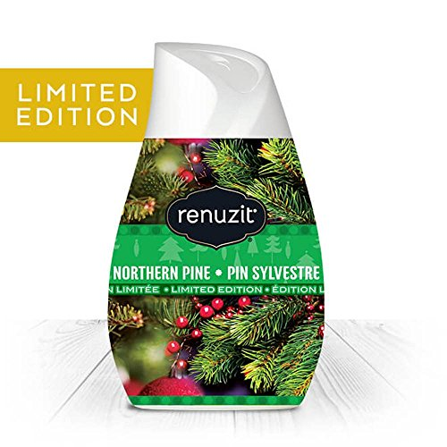 Renuzit Holiday Air Freshener Northern Pine Pin Sylvestre Scented Gel Limited Edition