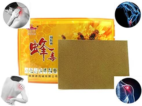 Bee Venom Chinese Herbal Pain Relief Patch for Cervical Spondylosis Joint Pain 10 Pcs