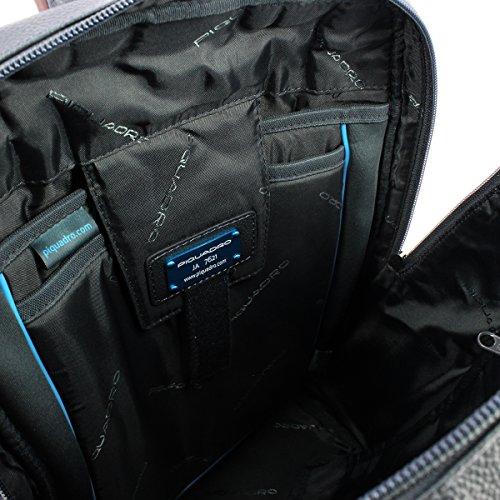 14 Zaino In Portatile Computer 0 Blu Marrone Pelle Di qf7ZXpxwX