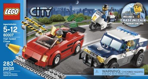 Amazon.com: LEGO City Police High Speed Chase Building Set 60007 ...