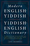 Modern English-Yiddish Yiddish-English Dictionary, Uriel Weinreich, 0914512501
