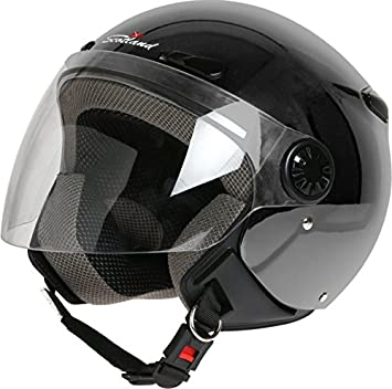 Scotland 120013 Titop xs- Casco de moto con visera, color titanio mate, talla