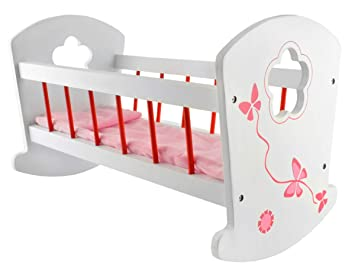 Puppenetagenbett Weiß : Bayer design puppenhochbett mit schrank princess world weiß lila