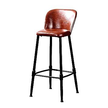 65CM Iron Bar Tabouret Chaise Haute American Retro Haut Tabourets Avant De Bureau