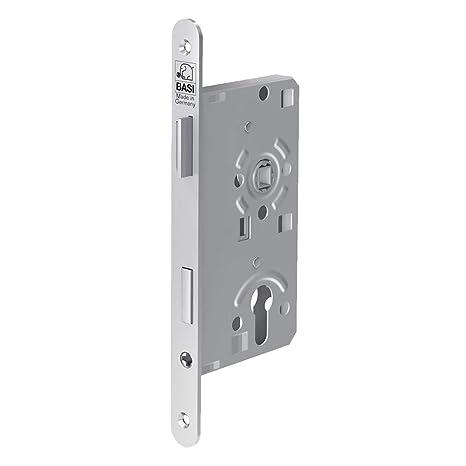 Favorit BASI® Zimmertür-Einsteckschloss DIN rechts | links ES 925 Nickel PX72