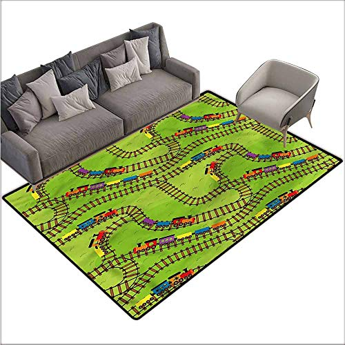 - Vintage Entrance Mat Train,Play Things Wagons on Road 48