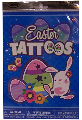 Easter Temporary Tattoos Pack product image
