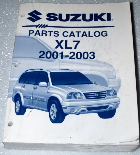 2001-2003 Suzuki XL-7 Parts Catalog (JA627 Series)