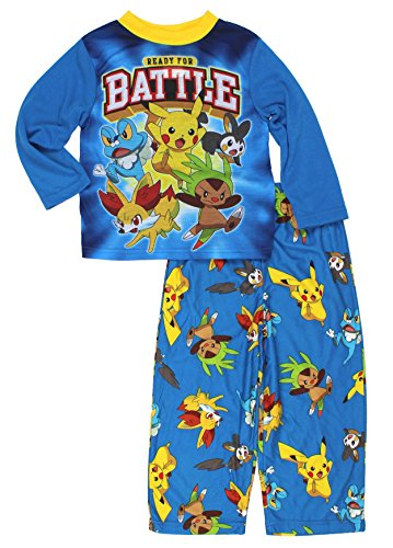 Pokemon Boys Top with Flannel