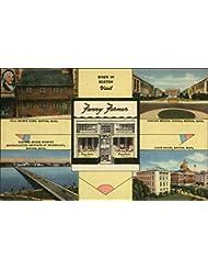 Fanny Farmer Candy Shops Boston, Massachusetts Original Vintage Postcard