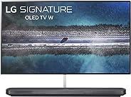 "LG SIGNATURE OLED65W9PUA Alexa Built-in W9 65"" 4K Ultra HD Smart OLED TV ("