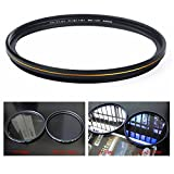 MC UV Filter - Ultra Slim 16 Layers Multi Coated Ultraviolet Protection Lens Filter for Canon Nikon Sony DSLR Lens (77mm)