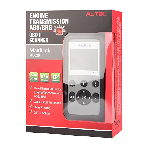 Autel Maxilink ML629/AL629 Code Reader (Upgraded version of AL619) Auto OBD2 Scanner Automotive Scan Tool Can ABS SRS Engine Transmission by Autel (Image #6)