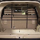 EXPAWLORER Dog Car Barrier Adjustable for Vehicle SUV Guard Black (Certified Refurbished)