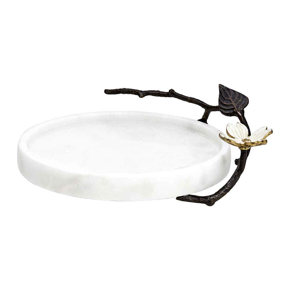 Michael Aram Botanical Leaf Round Trinket Box Michael Aram Inc 112454