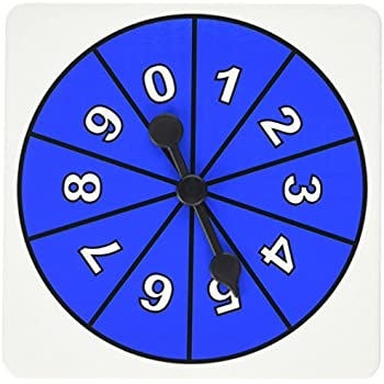 Didax Educational Resources 0-9 Number Spinners (5 Pack)