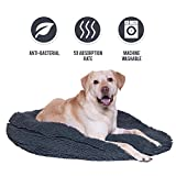 My Doggy Place - Ultra Absorbent, Soft Comfort, Microfiber Chenille Dog Bed Cushion Mat, Durable, Quick Drying, Washable (Gray, Giant (42'' x 6''))