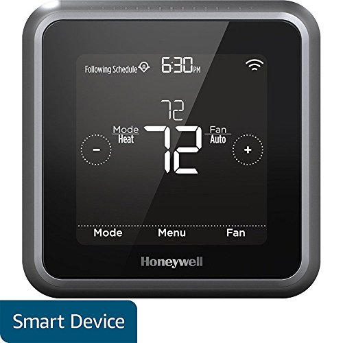 Honeywell RCHT8610WF2006 Lyric T5 Wi-Fi Smart 7 Day Programmable Touchscreen Thermostat with Geofencing, Requires C Wire, Works with Alexa by Honeywell (Image #4)