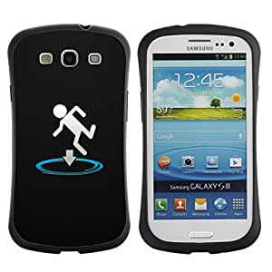 Suave TPU GEL Carcasa Funda Silicona Blando Estuche Caso de protección (para) Samsung Galaxy S3 I9300 / CECELL Phone case / / Funny Portal Drop /