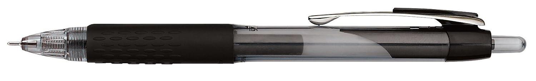 0.7mm Medium Point uni-ball 207 Needle Retractable Gel Pens Black 12 Count