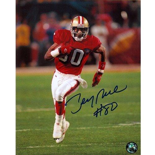 Jerry Rice Autographed San Francisco 49ers 8x10 Photo (Jerry Rice Photograph)