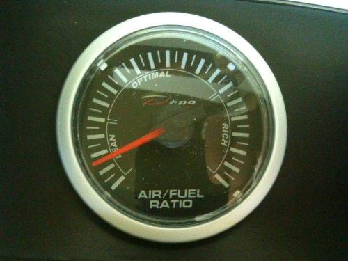 Depo Racing Clear Series Air Fuel Ratio Gauge - Autometer Air Fuel Ratio Gauge
