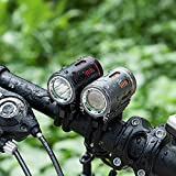 LED Bicycle Headlights, Super 1200 Lumen High Beam and Low USB Rechargeable Bike